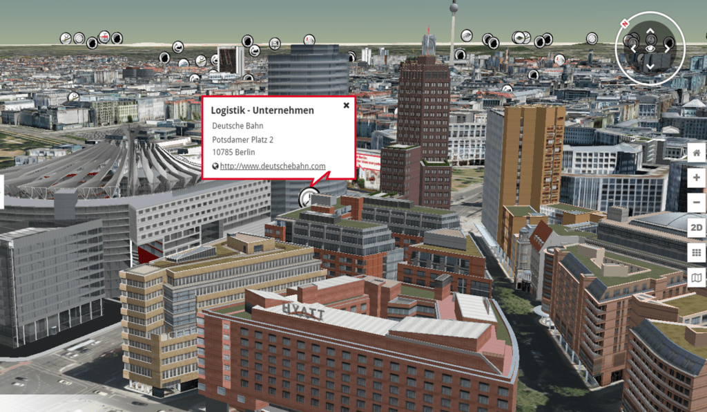 Stadtmarketing 3D-Stadtmodell