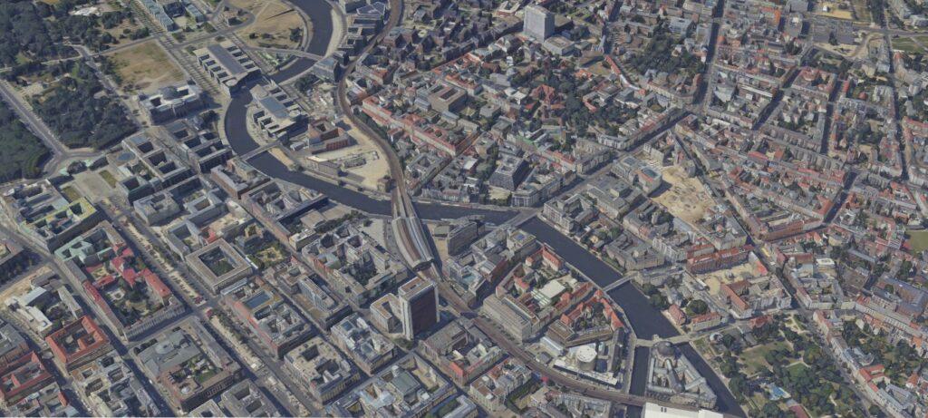 3D-Stadtmodell Berlin