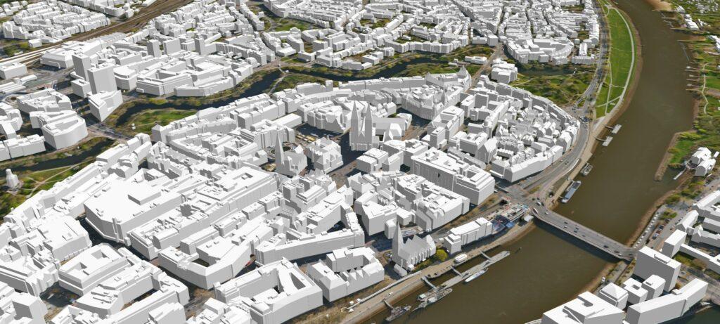 3D-Stadtmodell Bremen