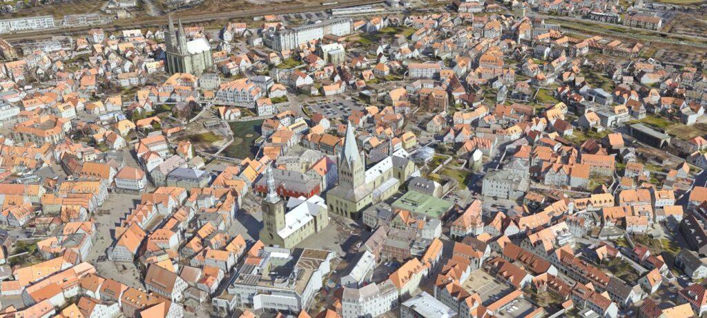 3D-Stadtmodell Soest