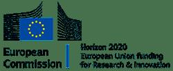 Logo European Commission - Horizon 2020 European Union funding for Research & Innovation