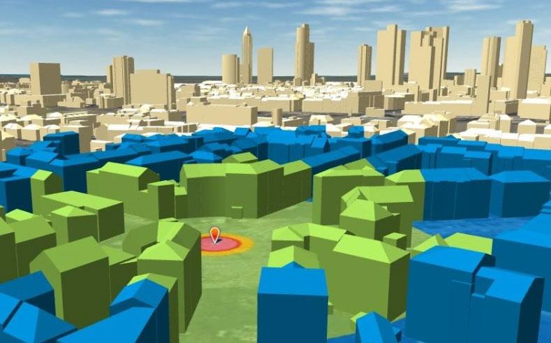 Screenshot Simulation Kampfmittelräumung