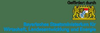 Logo des Bayerischen Staatsministeriums für Wirtschaft, Landesentwicklung und Energie